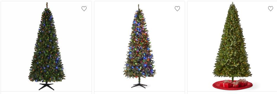 looking to get a nice new christmas tree this year right now select christmas trees are 60 off at jcpenney prices start at only 6399 and sizes range - Christmas Trees Black Friday