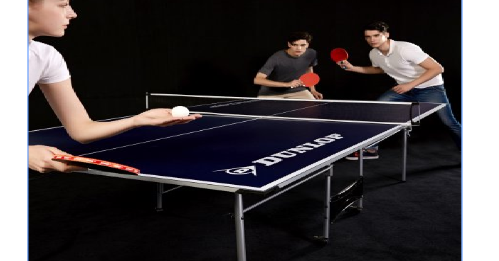 Dunlop official size table tennis table only freebies2deals - Official ping pong table size ...