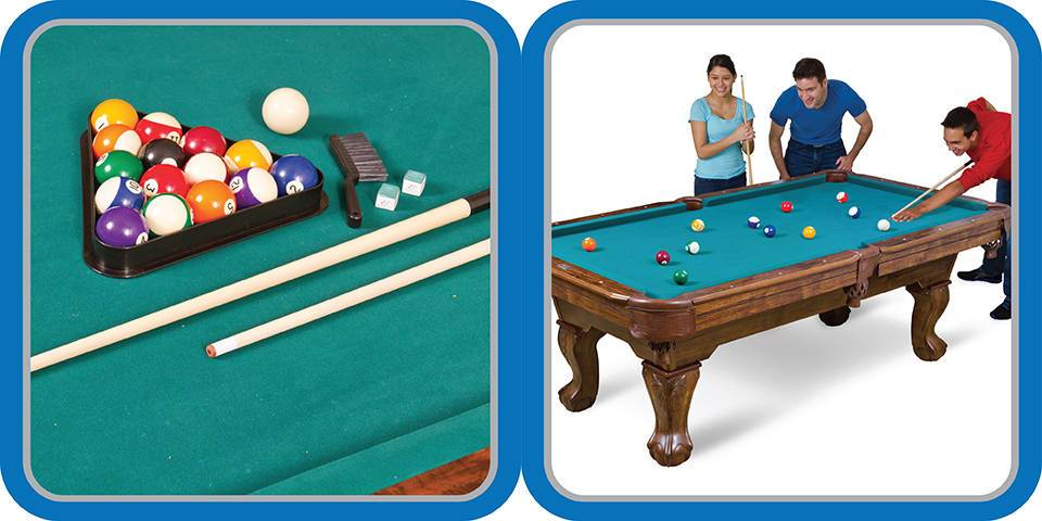EastPoint Sports Inch Pool Table Only Great Family Gift - Pool table pick up