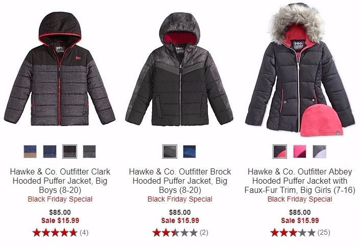 7bdf36c0a Hawke   Co Kids  Puffer Jackets Just  15.99! - Freebies2Deals