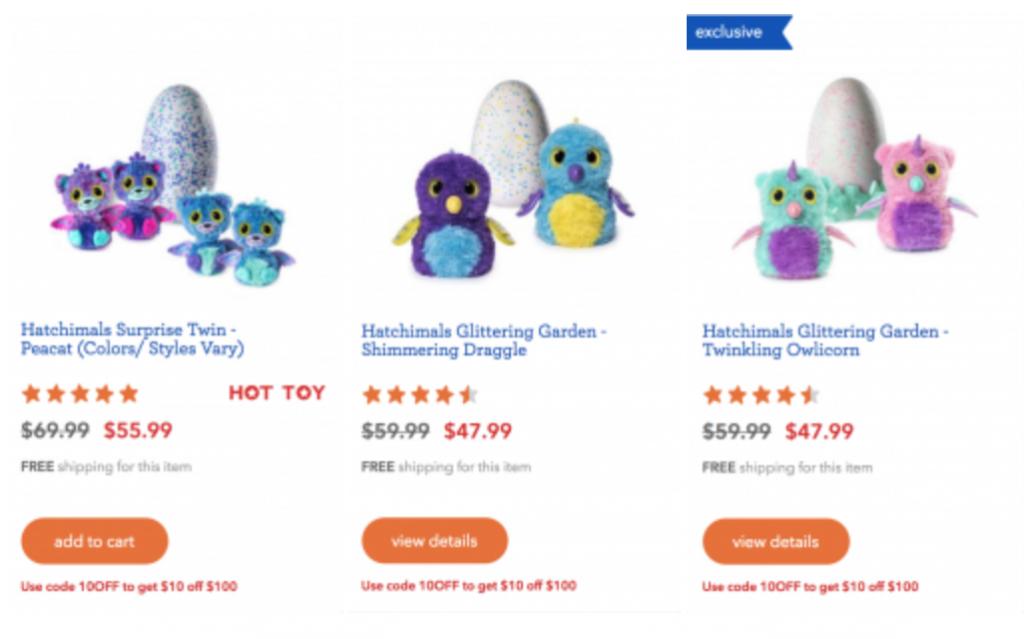 Hurrry 20 Off Hatchimals At Toys R Us Hatchimal Glittering Garden Reg