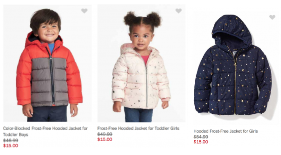 711867ad5 It looks like the jackets for women are sold out. But you can still shop  styles for men, girls, boys, toddler girls, and toddler boys.