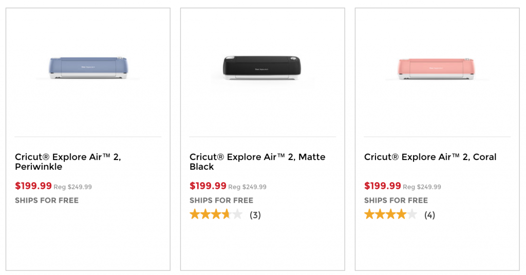 Cricut Explore Air 2 Just $199 99 Today Only At Michaels! (Reg
