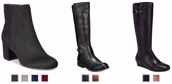 d0d777596443 Macy s has a selection of boots priced as low as  19.99 right now! Plus