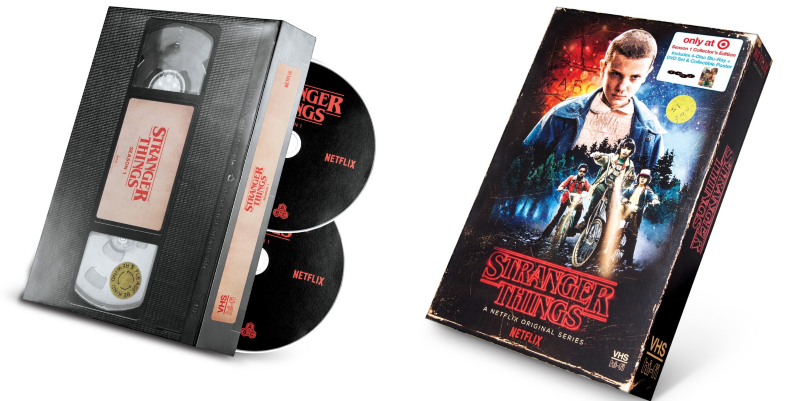 Stranger Things Season 1 Collector S Edition On Blu Ray