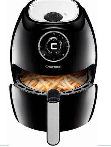 Chefman 5 5l Hot Air Fryer Only 79 99 Shipped