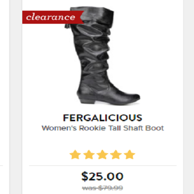 8ef707a65 Now is a great time to get some shoes at a great buy! Famous Footwear has  their clearance shoes