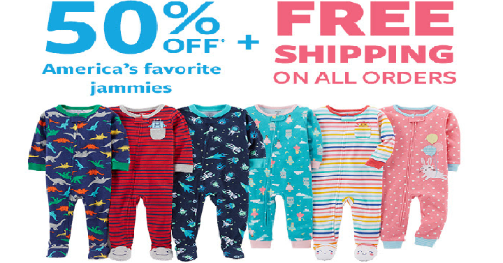 f320a5a44 If you love Carter's Pjs, then here is a great deal for you! Carter's takes  50% off Boys and Girls Pajamas! Plus, you'll score FREE shipping on all  orders ...
