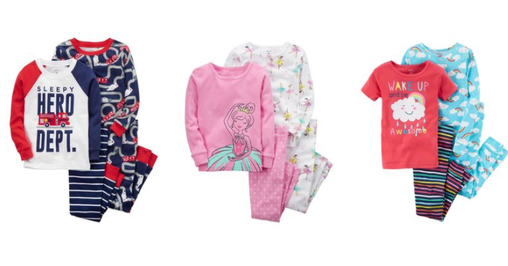 b8969ce4e Grab cute 2 pack sets of pajamas for only $18.70 shipped with coupon code.  That's only $9.35 each shipped right to your home.
