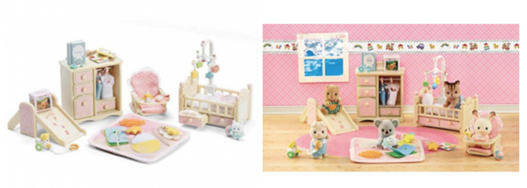 Calico Critters Baby S Nursery Set 13