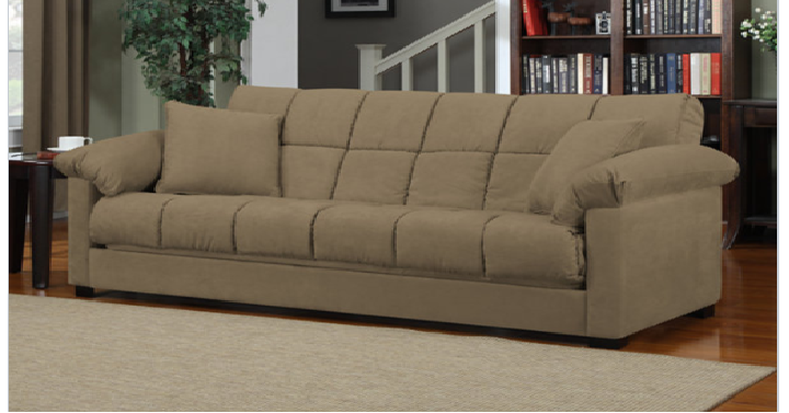 Superb Taylor Pillow Top Arm Microfiber Convert A Couch Only Cjindustries Chair Design For Home Cjindustriesco