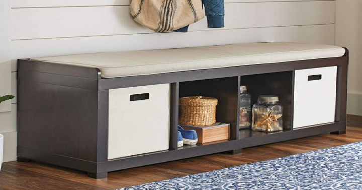 Better Homes And Gardens 4 Cube Organizer Bench Only 60