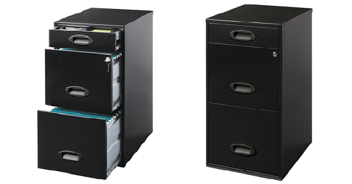 Office Depot Has The Realspace 18u2033D 3 Drawer Vertical File Cabinet For Only  $59.99 Shipped! (Reg. $120) This Cabinet Has Awesome Reviews.
