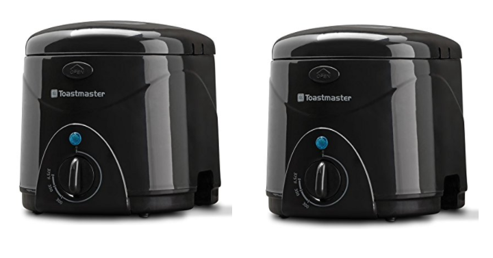 Toastmaster 1 l deep fryer only 1646 reg 2999 freebies2deals amazon has the toastmaster 1 l deep fryer for only 1646 reg 2999 this is a compact 1 liter capacity deep fryer with adjustable temperature control fandeluxe Images
