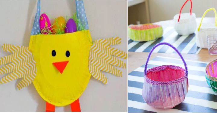 Super Easy Easter Kid Crafts Using Paper Plates Freebies2deals