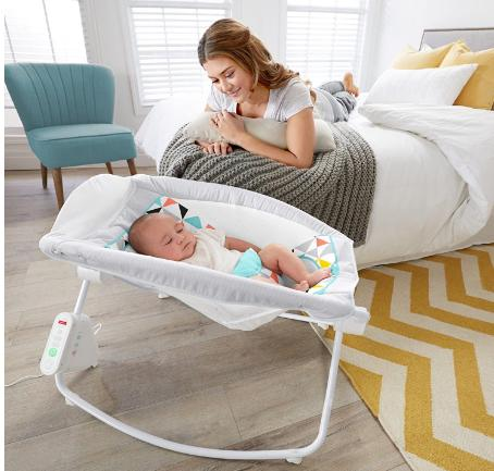 Fisher Price Auto Rock N Play Sleeper Only 50 47 Shipped Freebies2deals