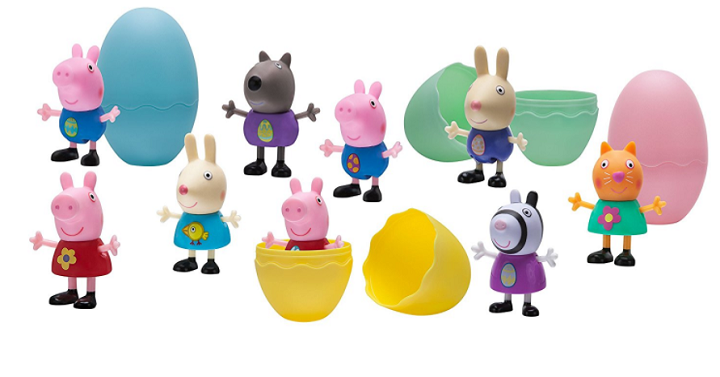 Find great deals coupons free stuff online how cute are these for easter this 6 pack peppa pig action figure easter egg set is just 1349 make easter oinktastic for your little peppa fan with the fandeluxe Images