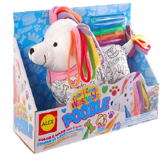Find great deals coupons free stuff online so cute this would be a perfect easter gift this color and cuddle washable poodle is just 920 reg 19 alex toys craft color and cuddle washable fandeluxe Gallery