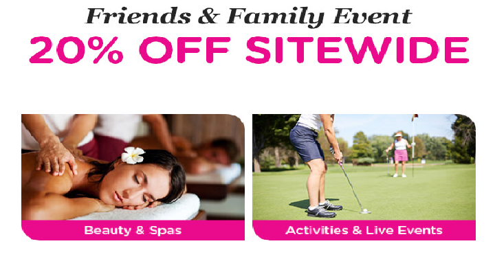 Coupon codes archives freebies2deals now through tomorrow march 22nd living social is having their friends family event that means you can take 20 off sitewide just use coupon code ff20 fandeluxe Gallery
