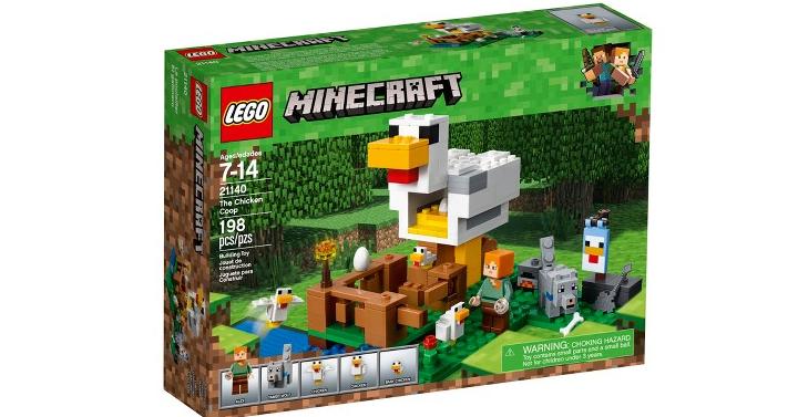 LEGO Minecraft The Chicken Coop Only $15.99! (Reg. $19.99) + FREE ...