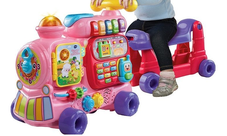 Vtech Sit To Stand Ultimate Alphabet Train Only 30 41