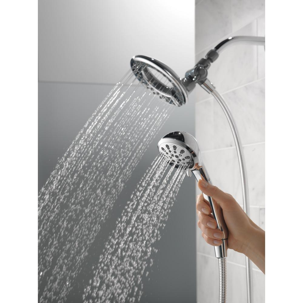 Delta In2ition 4 Spray 2 In 1 Hand Shower And Shower Head Combo Kitu2014$24.88!  (Reg $44.98!)