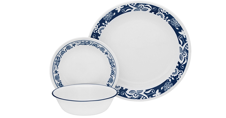Perfect way to update the dinnerware for summer dining! The crisp white and blue are just a perfect change for the kitchen table. I love these dishes u2013 they ...  sc 1 st  Freebies2Deals & Corelle Livingware 16 piece Dinnerware Set True Blue - Just $27.99 ...