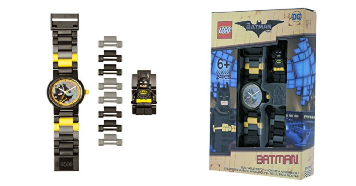 Kids batman minifigure buildable watch only 1199 reg 2499 amazon has the kids batman minifigure buildable watch only 1199 reg 2499 this watch has multi colored interchangeable watch links with 12 fandeluxe Gallery