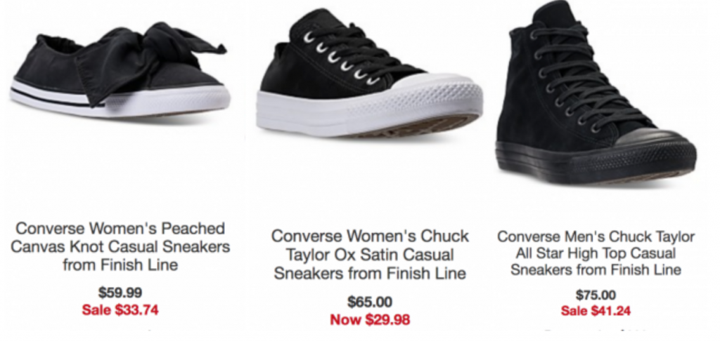 24b781c84082 Macy s is featuring some deep discounts on a variety of Converse sneakers!  Shop styles for men