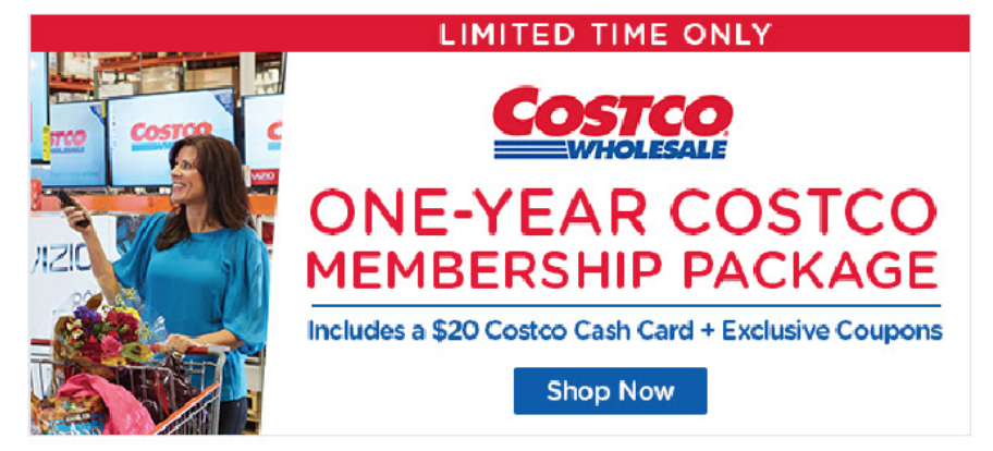 4e659fd94b6 HOT! While supplies last, Living Social has a One-Year Costco Gold Star  Membership with $20 Costco Cash Card & Coupons for only $60!
