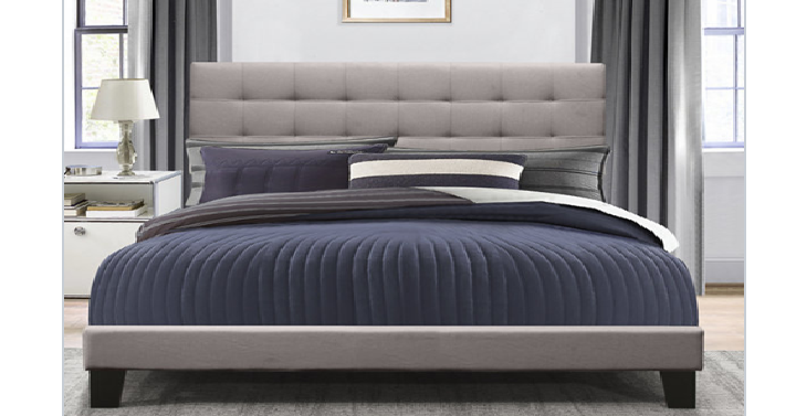 Jc penney archives freebies2deals right now at jcpenney you can get the daniella upholstered bed for only 99 shipped reg 600 just use coupon code 2forhome at checkout fandeluxe Image collections