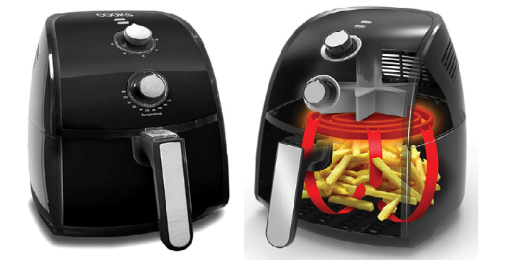 Cooks 25l air fryer only 2249 after rebate reg 100 head over to jcpenney and get this highly rated cooks 25l air fryer for only 2249 when use coupon code 3shopnow at checkout and submit for the 20 rebate fandeluxe Image collections