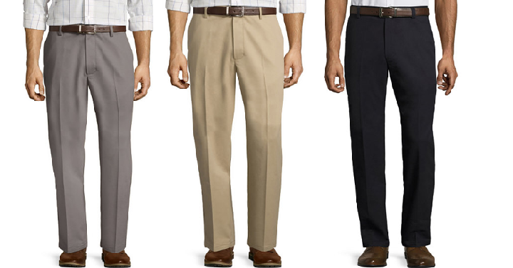 Jc penney archives freebies2deals right now jcpenneys has the mens st johns bay easy care classic flat front pants for only 1274 when you use coupon code fandeluxe Image collections