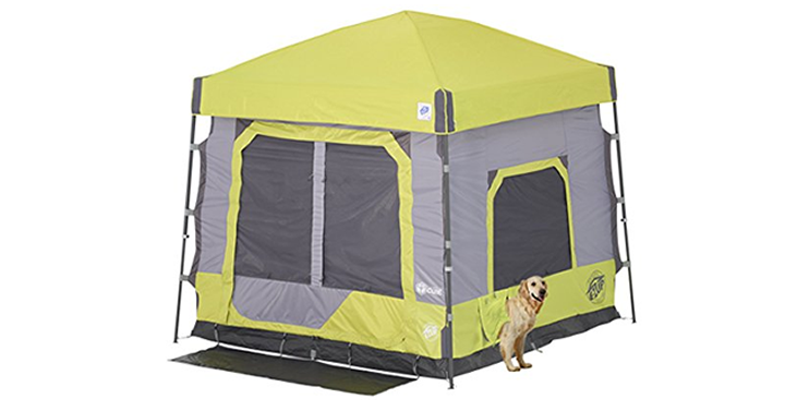 E Z Up Camping Cube Outdoor Tent 10 X 10 Limeade