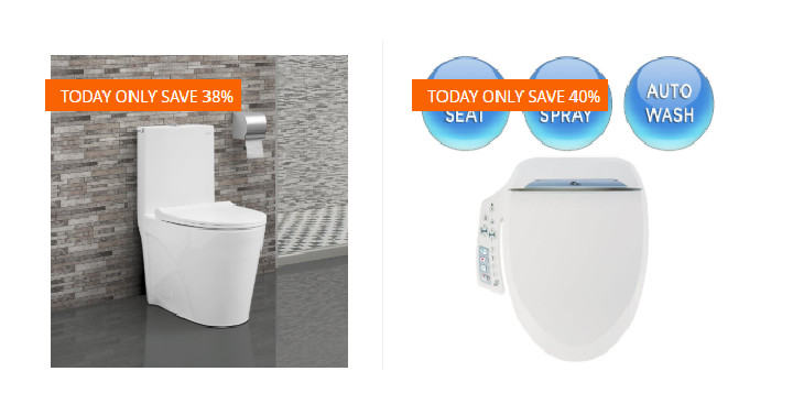 Home Depot: Take Up To 40% Off Select Toilets & Bidet