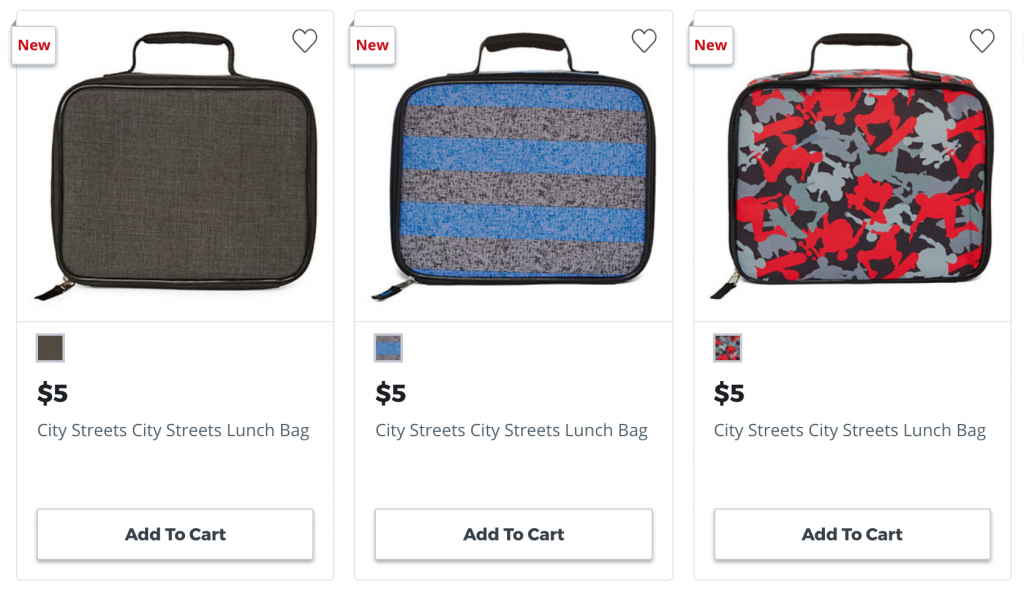 6e22119a9f28 Add five City Street Lunch Boxes to your cart at  5.00 each. Use promo code  GOSHOP33 to save  10. Total at checkout is  15.00 or  3.00 each