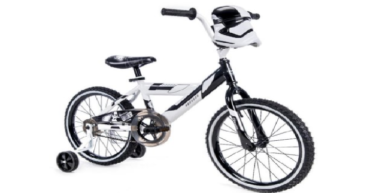 ac8182644f3 Looking for a new bike this summer? Head over to Walmart and get the  Lucasfilm 18″ Star Wars Stormtrooper Boys' Bike for only $49 Shipped! (Reg.