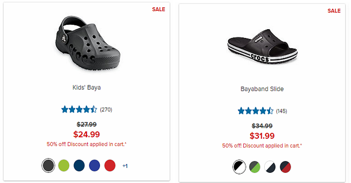 f4108cb178e661 Hurry over and shop the Crocs Flash Sale that s happening through tomorrow  evening! During this sale you ll save 50% off select Crocs shoes including  men s ...
