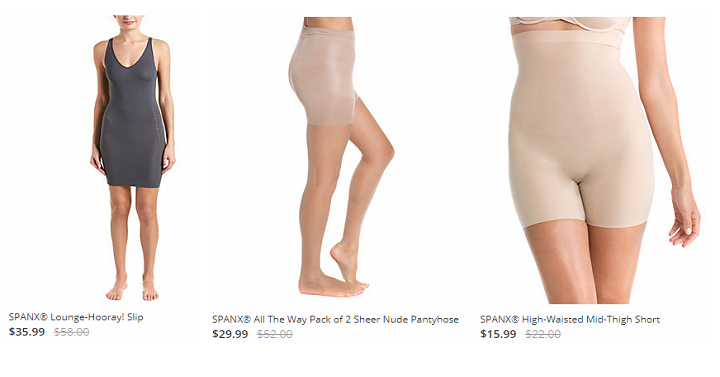 28830a296e Spanx is once again having another sale on Rue La La! Spanx is one of those  brands that we don t see a lot of really good deals for.