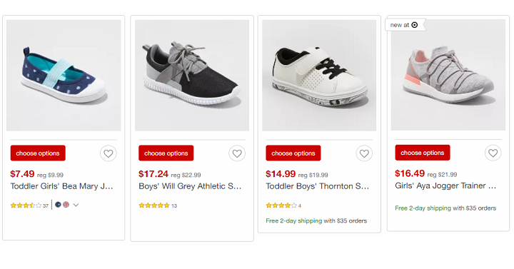 4f5dbd8c0 Target  Save 25% Off Kids Shoes Both In-Store   Online! - Freebies2Deals