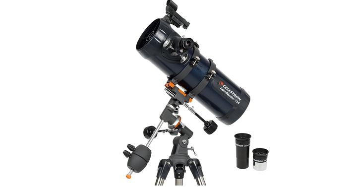 Celestron astromaster eq reflector telescope just