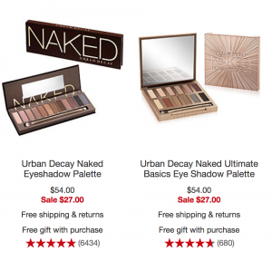 5c9787cd91e8 Head over to Macy s where you can shop two different Urban Decay Naked  Eyeshadow Palettes for just  27.00! (regularly  54.00) Choose from the  Ultimate ...