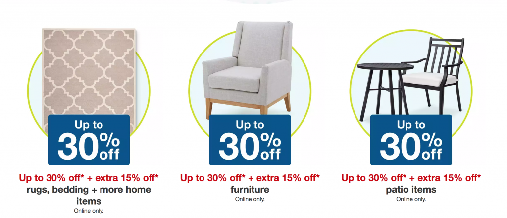 Target Labor Day Sale Up To 30 Extra 15 Off Rugs Bedding Home