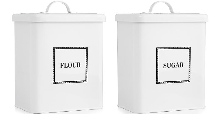 Macyu0027s Is Having A Buy One Get One 50% Off On Martha Stewartu0027s Kitchen  Gadgets! That Includes These Adorable Vintage Inspired Food Storage  Canister That Are ...