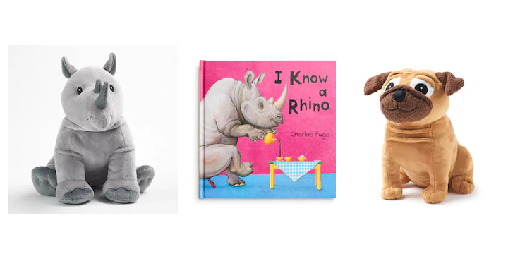Kohl S Cares Plush Animals Books Only 3 50 Each Freebies2deals
