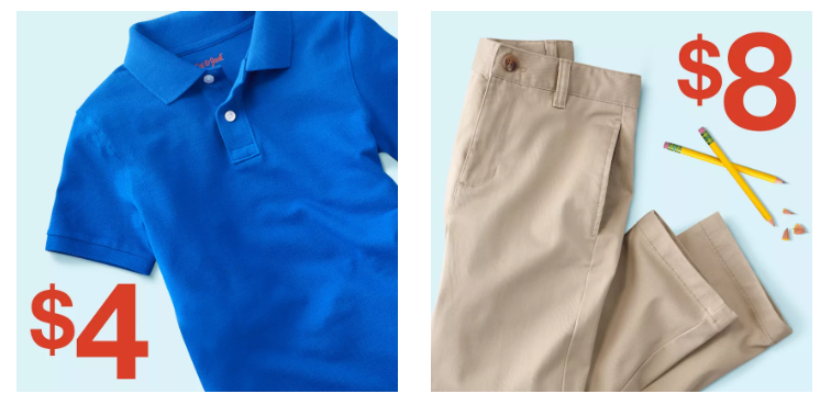 Complete School Uniforms Only 12 At Target Freebies2deals