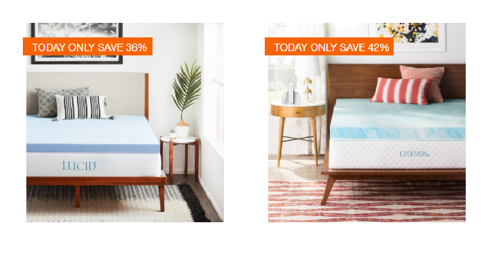 Home Depot Save Up To 40 Off Select Mattress Toppers And Comforter