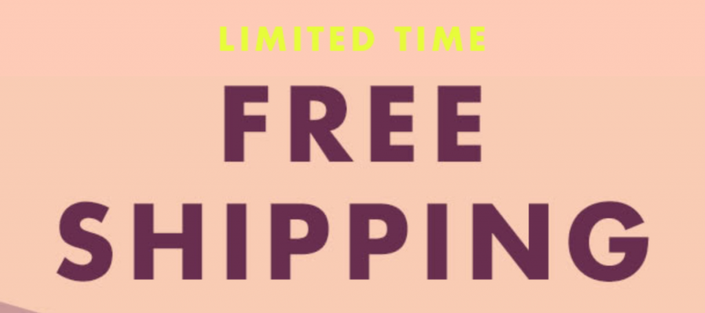 E L F Cosmetics Free Shipping On All Orders No Minimum Purchase