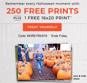 Shutterfly 250 Free Prints Plus Free 16x20 Print Freebies2deals
