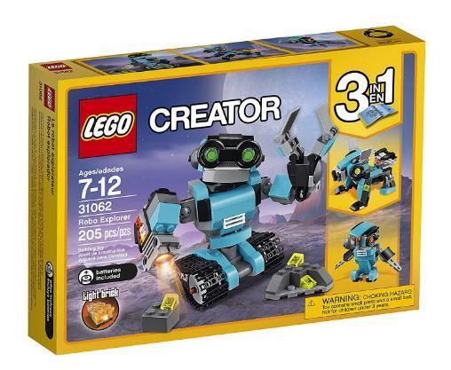 Lego Creator Robo Explorer Only 13 99 Freebies2deals